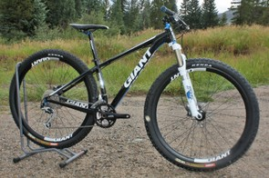 Giant's highest-end 29er at the moment is the mid-range XtC 29er 1 but that's set to change at Sea Otter with the expected introduction of at least one new premium model