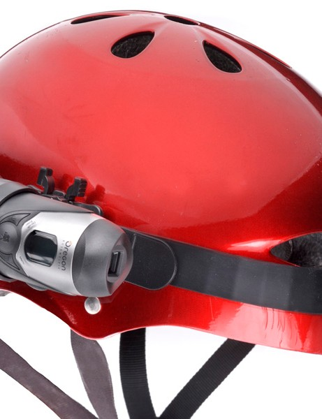 Aldi say the Oregon ATC2K Action Cam mounts easily on helmets, handlebars and other sports equipment