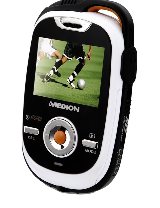 Aldi are also selling this robus Medion Digital HD Camcorder for £39.99