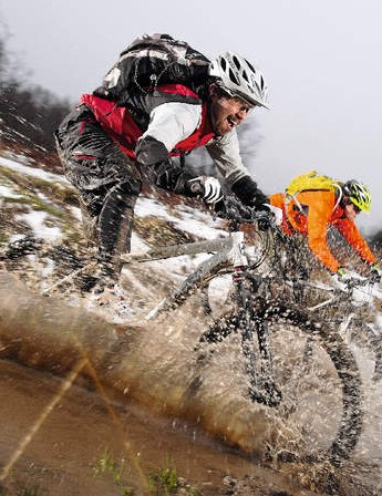 If you embrace winter's soggy conditions you'll find there's lots of fun to be had