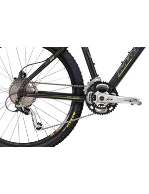 Shimano XT groupset on the Black Line Pro