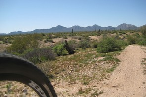 McDowell Mountain State Park in Fountain Hills, Arizona is rife with fast, flowy and sinuous desert terrain surrounded by spectacular views. Just make sure you pay attention to the trail!