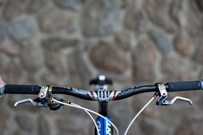 The Shimano XTR Yumeya edition highlights are very visible from the front