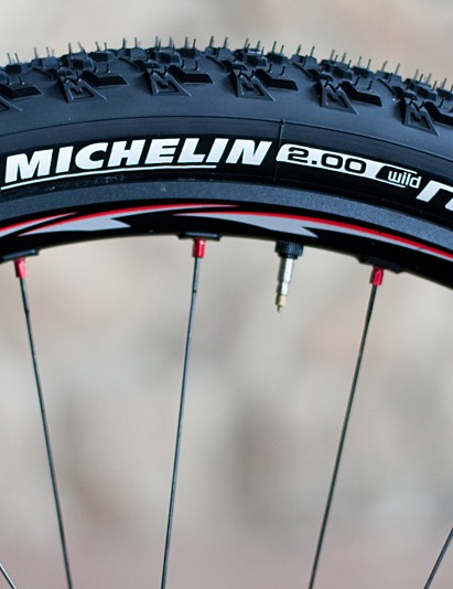 Craig continues to be personally sponsored by Michelin in contrast to the rest of his Rabobank-Giant team-mates who will be on Vredestein tyres