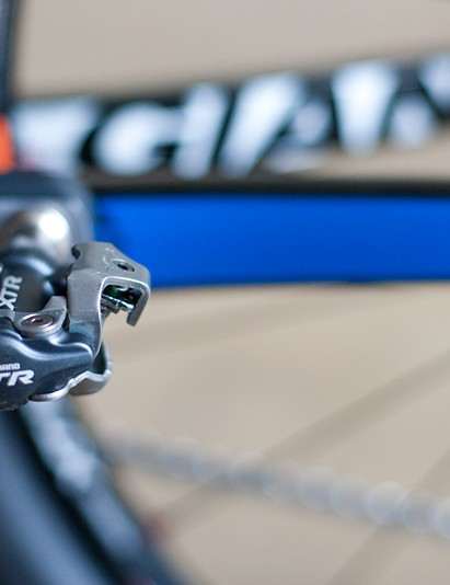 Craig races on Shimano XTR pedals