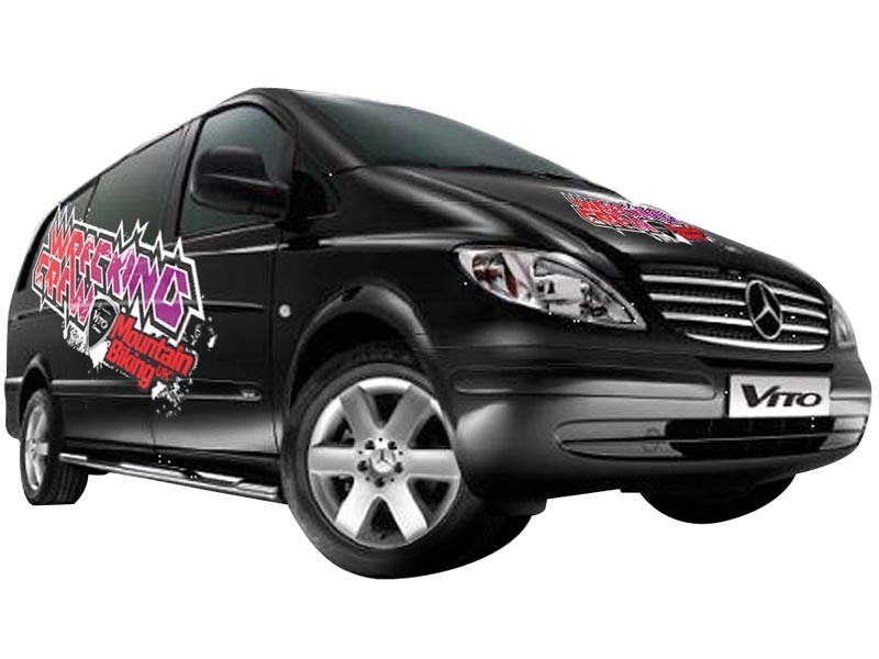 Check out the Mercedes Vito Sport at our Bike Demo Days