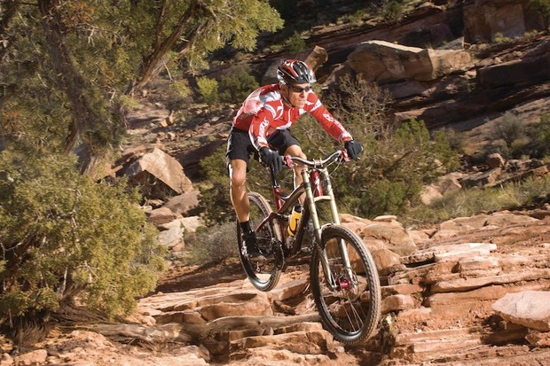 Overend is a brand ambassador for Specialized.