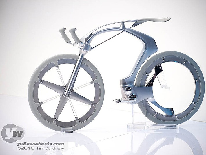 Peugeot were showing off this SR1 concept bike at the 80th International Motor Show in Geneva alongside their SR1 concept car