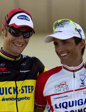 Tom Boonen and Daniele Bennati