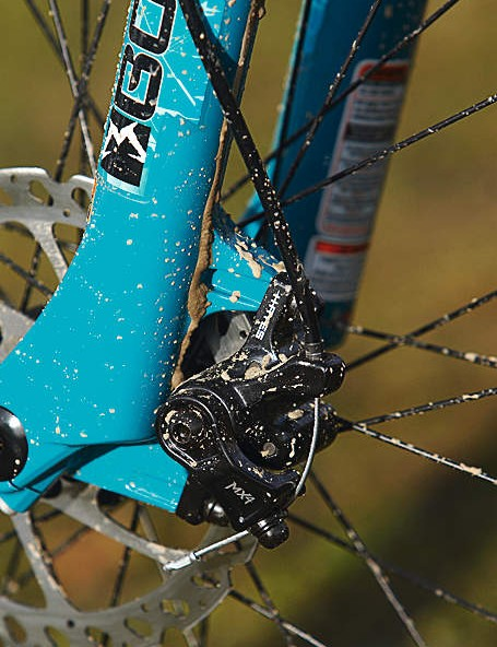 Cable brakes will suit the dirt riders