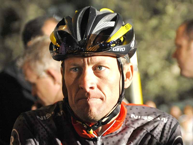 Lance Armstrong has been ruled out of Milan-San Remo due to an attack of gastro