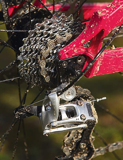 The close ratio rear cassette means a lesser jump between shifts but a smaller overall gear range