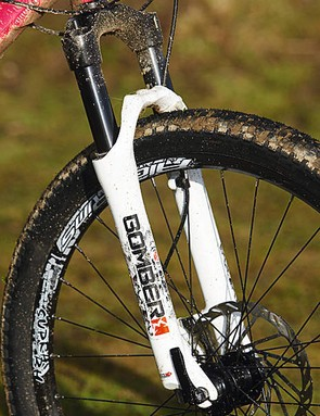 The Dirt Jumper fork is a reasonably controlled, sturdy shock absorber