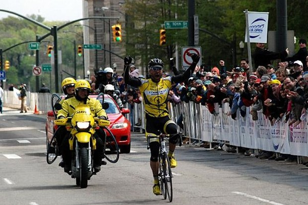 Svein Tuft won the 2007 US Open of Cycling, in Richmond, Virginia.