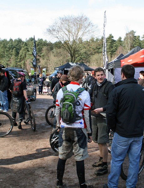The day was a great chance to catch up with your mates and get advice from the bike companies