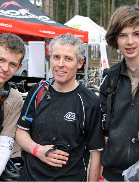 Dan Moore, Roland Seber and Louie Seber were particularly impressed by the Norco Fluid LT