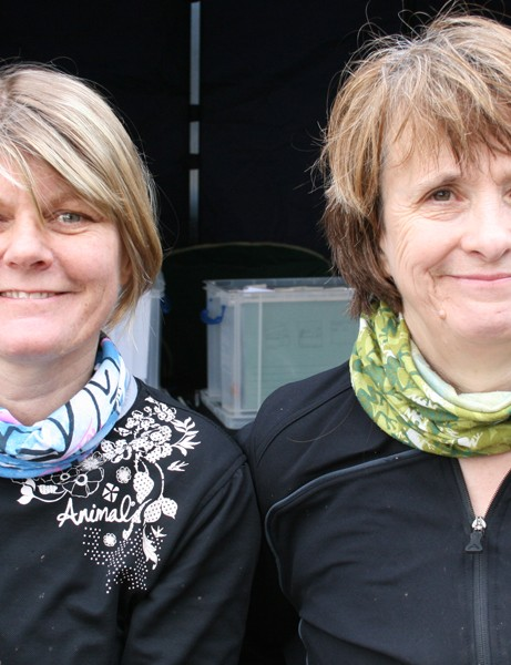 Sue Hawkridge and Jane Williamson are thinking of buying new bikes
