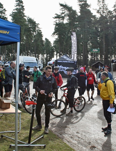 The day got off to an early start, with riders eager to sling their legs over the latest bikes