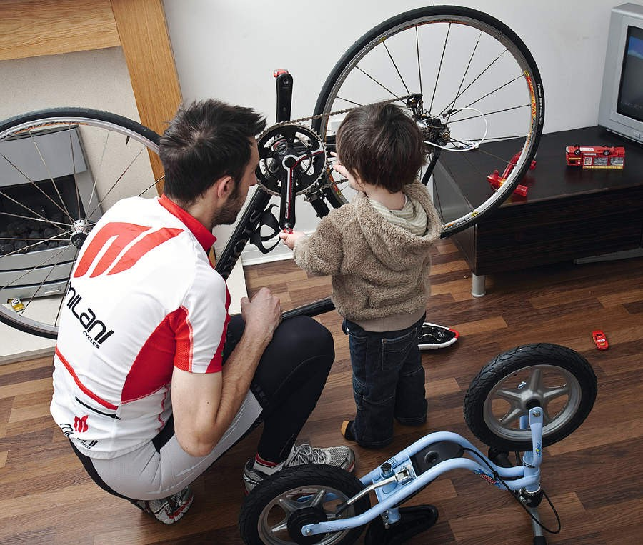 Involving your family in your cycling is one way to spend time with both your bike and your loved ones