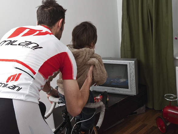 Quality time on the bike over quantity is key if you don't want your family to feel ignored