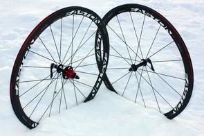 Easton's EC90SL carbon clincher wheelset.