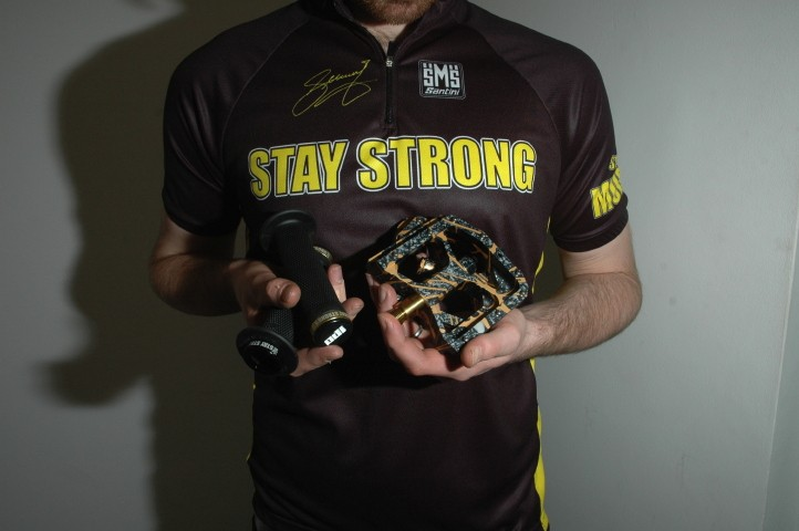 The Stay Strong kit we auctioned