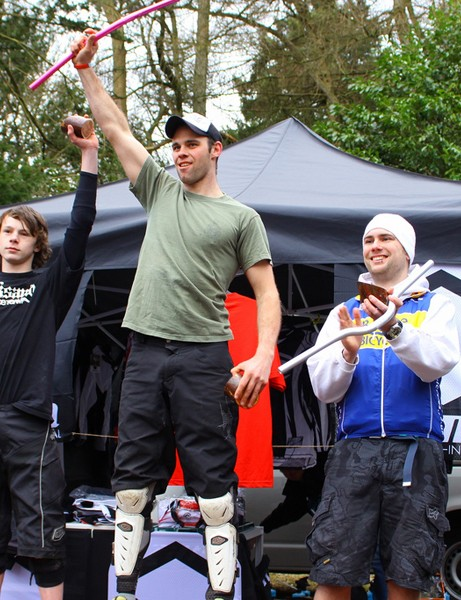 Hardtail podium