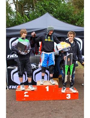 Junior podium