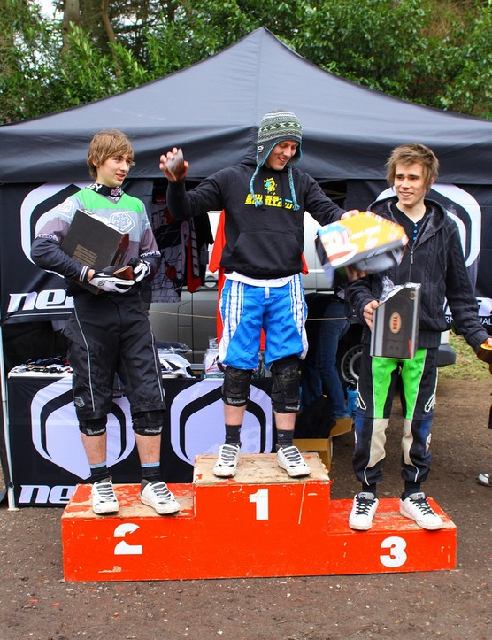 Junior podium