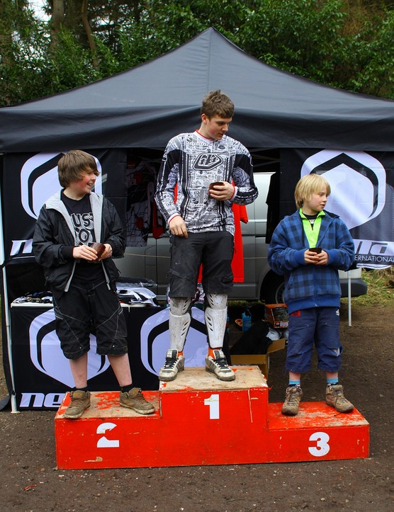 Juvenile podium