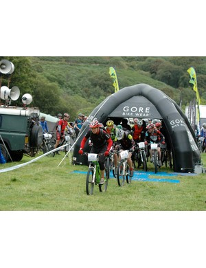 Enjoying the sweet trails at previous TransWales events