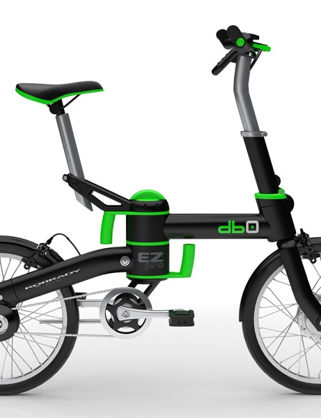 The db0 is a new electric folding bike from Robrady, the designers behind Vectrix scooters and superbikes