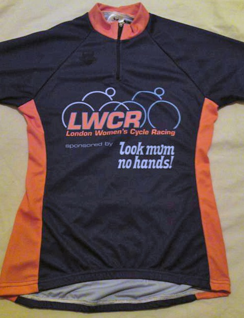 London Women's Cycle Racing leader's jersey