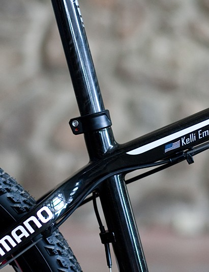 A conventional seatpost makes for easier adjustments and packing for travel than a seatmast
