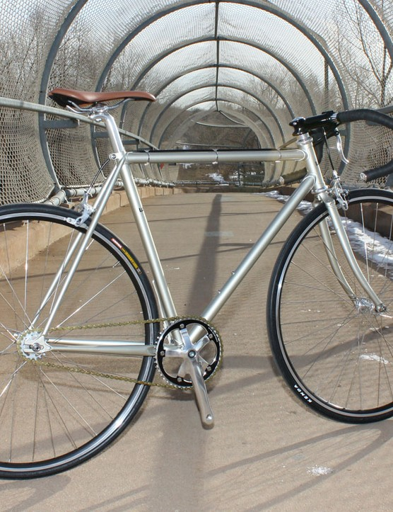 The Wabi Special is a no-frills lugged steel fixie with a classic look and feel