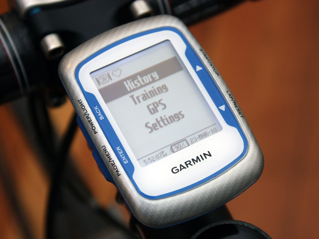 Setup and menu navigation are more intuitive on the Edge 500 relative to the 205 or 305