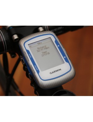 Handy totals help you keep track of long-term mileage