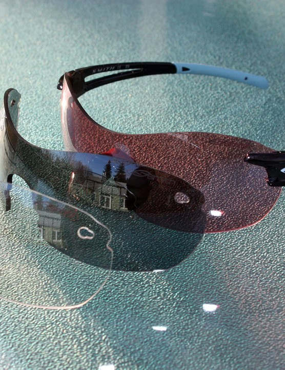 The complete set comes with three lenses, including Smith Optics' superb Ignitor tint