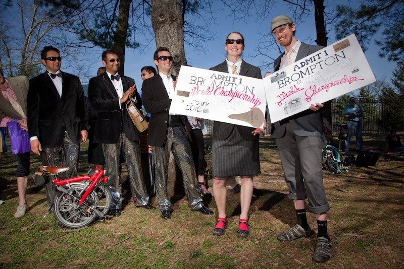 Beth Green and Aaron Ritz are headed to the Brompton world championships.