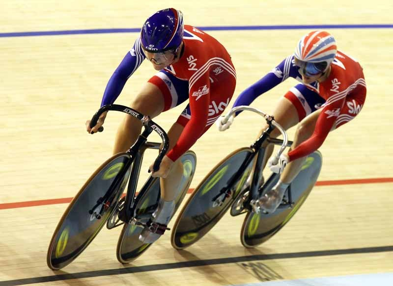 Jess Varnish and Victoria Pendleton couldn't match the Australians in the women's team sprint