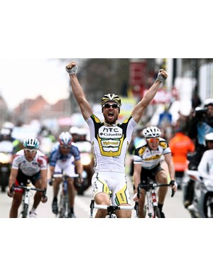 Bernhard Eisel wins the 72nd edition of Ghent-Wevelgem