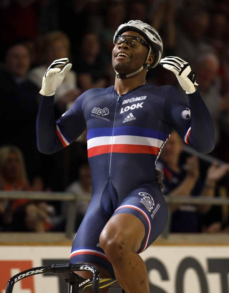 Gregory Bauge (Fra) won another men's sprint title. Sir Chris Hoy didn't make the finals.