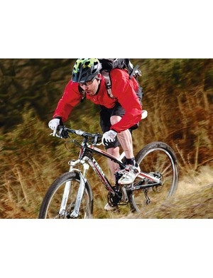 The Trek Top Fuel 9 has a great spec with light build and supple-but-responsive suspension to boot