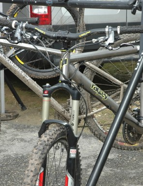 Hotline's Lynskey Pros gave people a chance to try a 29er