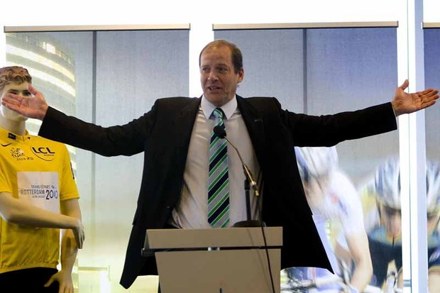 Tour de France director Christian Prudhomme named the 22 teams that will take part in the 2010 race