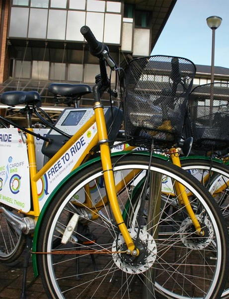 OYBike rental sites are dotted throughout the capital