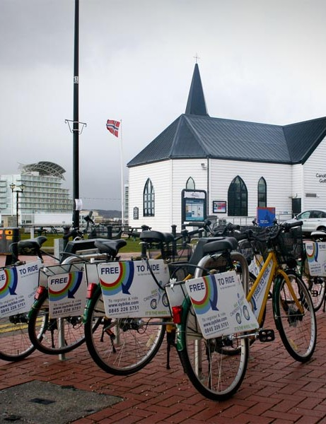 OYBike rental scheme a success in Cardiff