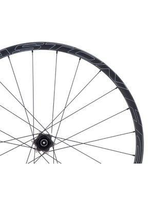 The hubs and spokes are borrowed from the standard aluminum Haven