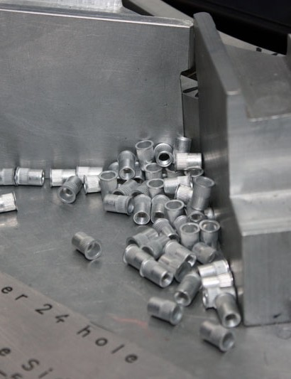 These are the aluminum rivnuts that are used on each Haven rim