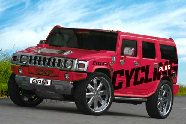 The CP Hummer in all its glory!